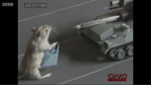 Rodent Tiananmen Square - Satire