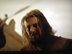 Baelor (S1 Ep9) And so continues Sean Bean's bad run of form in fantasy epics. He was always living on Borrow-mired time.